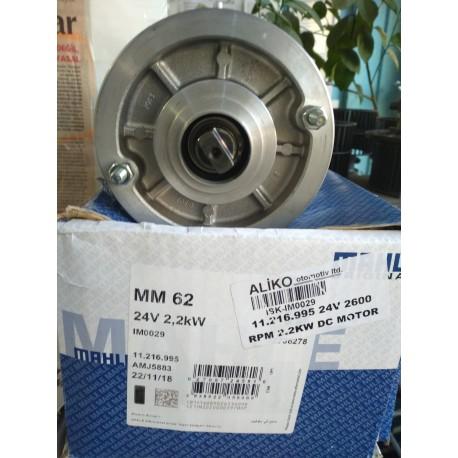 LETRIKA 24V 2.2KW 2600 RPM DC MOTOR SAĞ SOL DÖNÜŞ